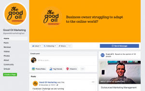 Good Oil Marketing FB page